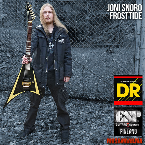 Joni Snoro - Frosttide - DR Strings - ESP Guitars
