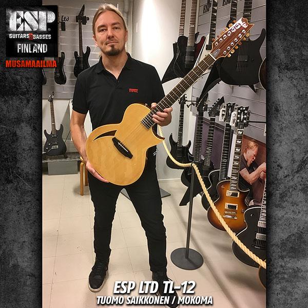 Tuomo Saikkonen (Mokoma) & ESP TL-12