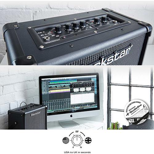 ID:Core Stereo V2 - helppokäyttöiset kitaravahvistimet