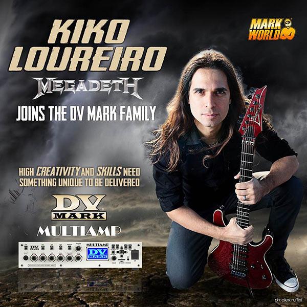 Kiko Loureiro - Megadeth - DV Mark Multiamp