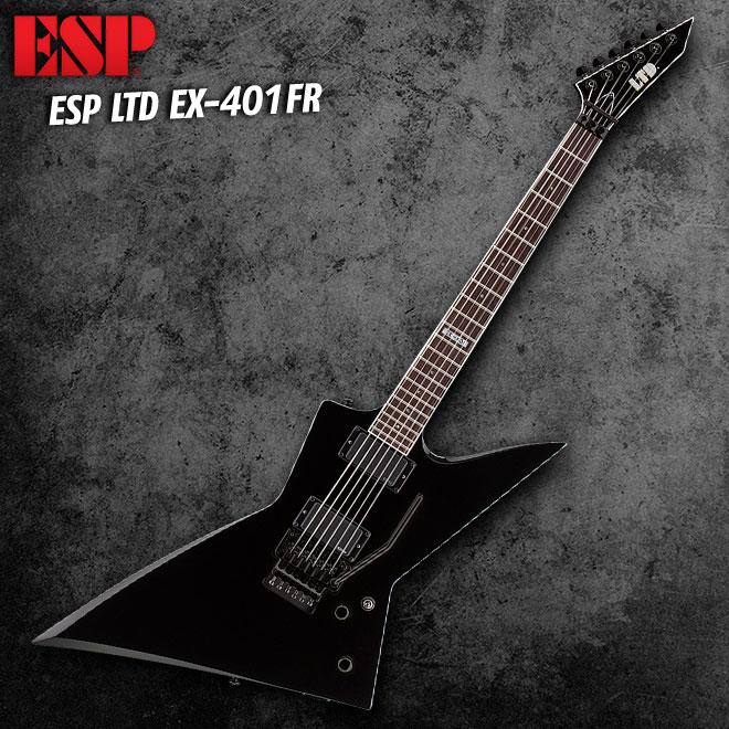 ESP LTD EX-401FR Black