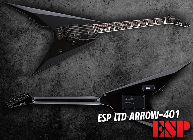 ESP LTD Arrow-401 Black