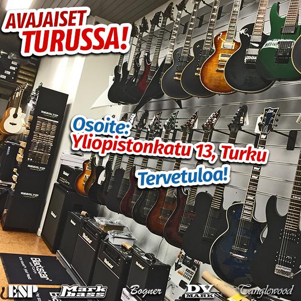 Musamaailman Turun myymälä on avattu!