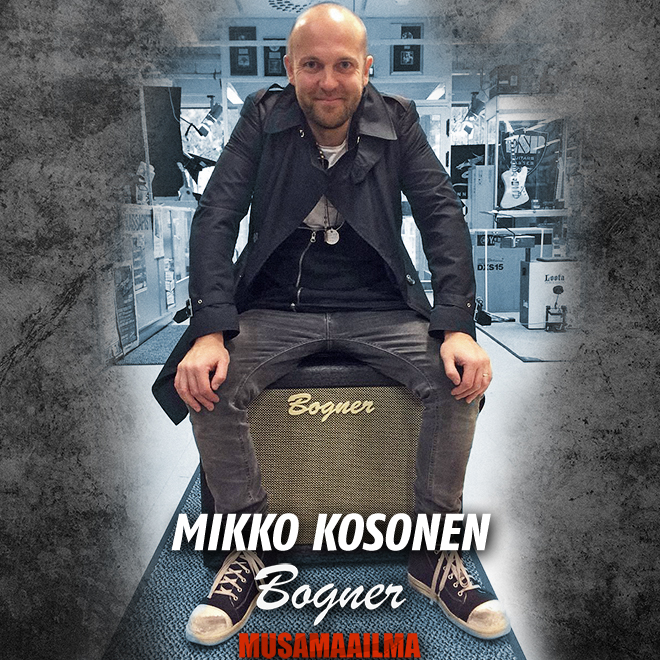 Mikko Kosonen & Bogner Amplification