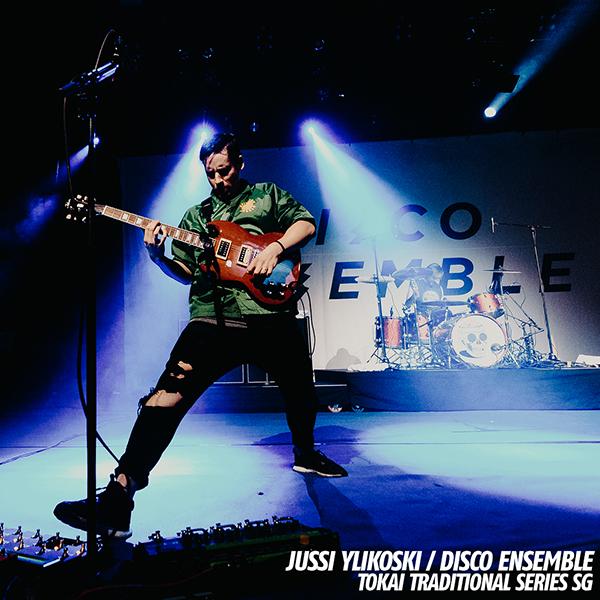 Jussi Ylikoski - Disco Ensemble - Kuva: Jon Norppa