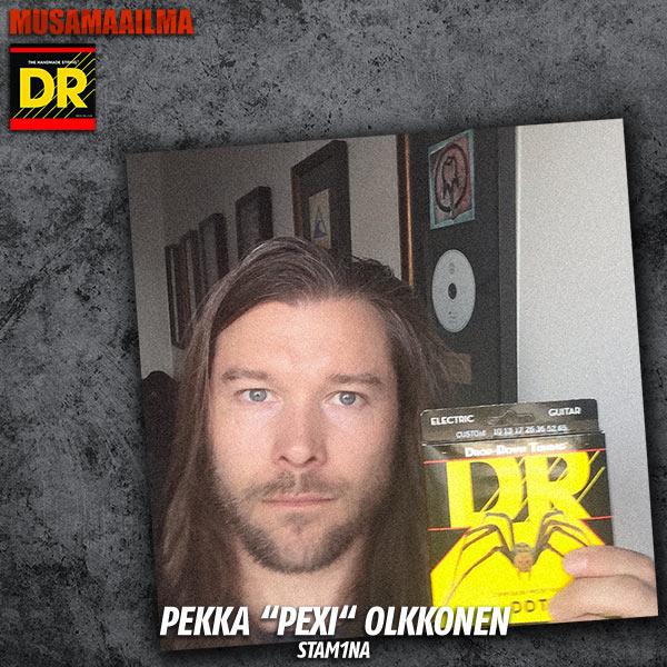 Pexi Olkkonen - Stam1na - DR Strings