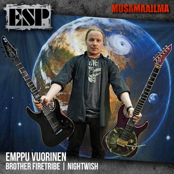 Emppu Vuorinen - ESP Guitars