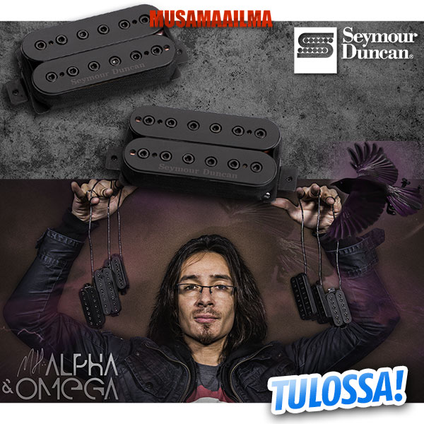 Seymour Duncan Alpha & Omega Mark Holcomb Signature