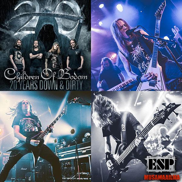 Children of Bodom - 20-vuotisjuhlakiertue Helsingissä to 6.4.