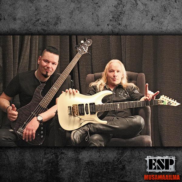 Brother Firetribe Jason & Emppu -ESP Guitars
