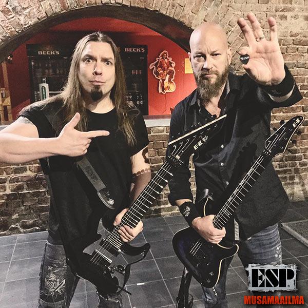 Elias Viljanen - Nino Laurenne - ESP Guitars