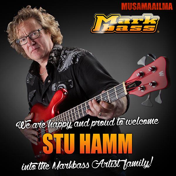 Stu Hamm & Markbass-vahvistimet