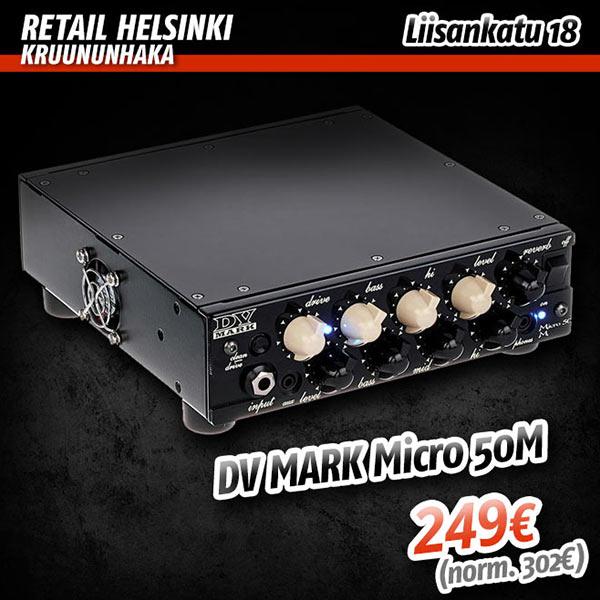 Avajaistarjous: DV Mark Micro 50M