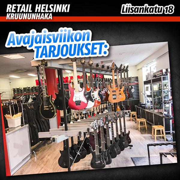 Musamaailma Helsinki - Avajaisviikon tarjoukset