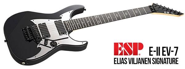ESP E-II EV-7 Elias Viljanen Signature