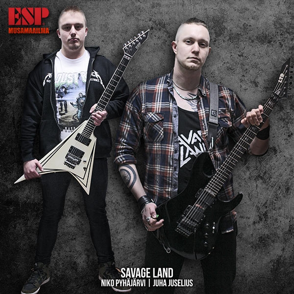 Savage Land - ESP Guitars