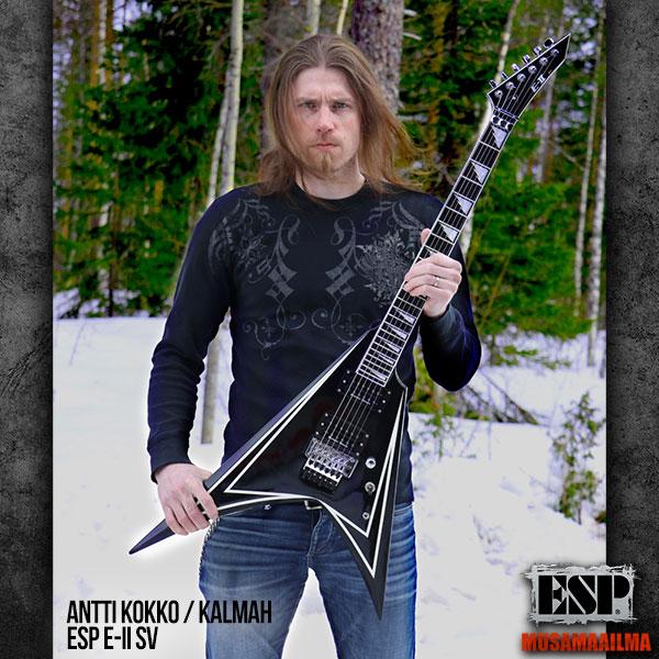 Antti Kokko - Kalmah - ESP E-II SV