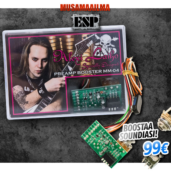 ESP MM-04 Preamp Booster Alexi Laiho Signature