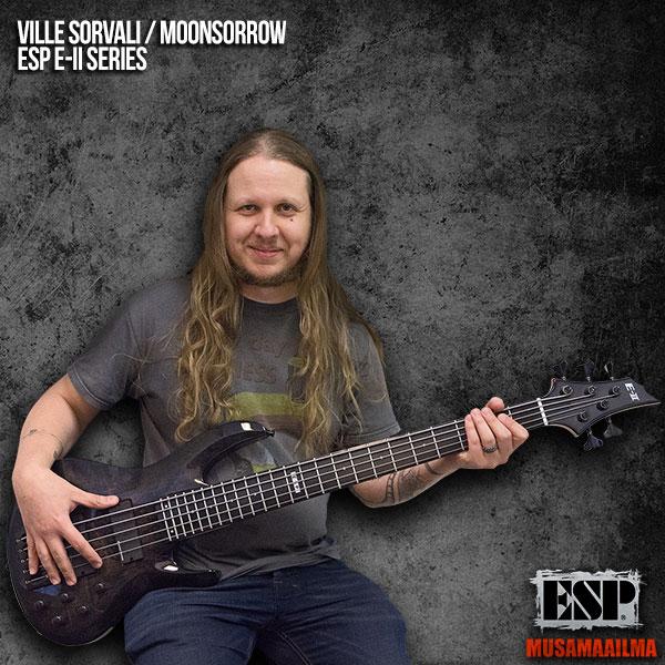Ville Sorvali - Moonsorrow - ESP E-II Series