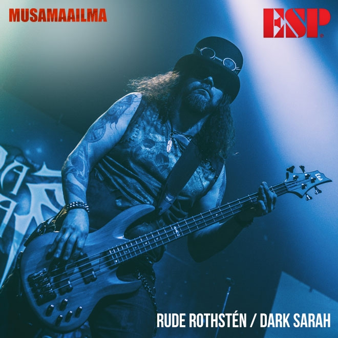 Rude Rothsten - Dark Sarah - ESP LTD