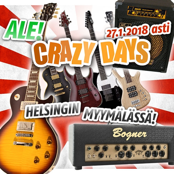 Crazy Days 2018 ale Helsingin myymälässä