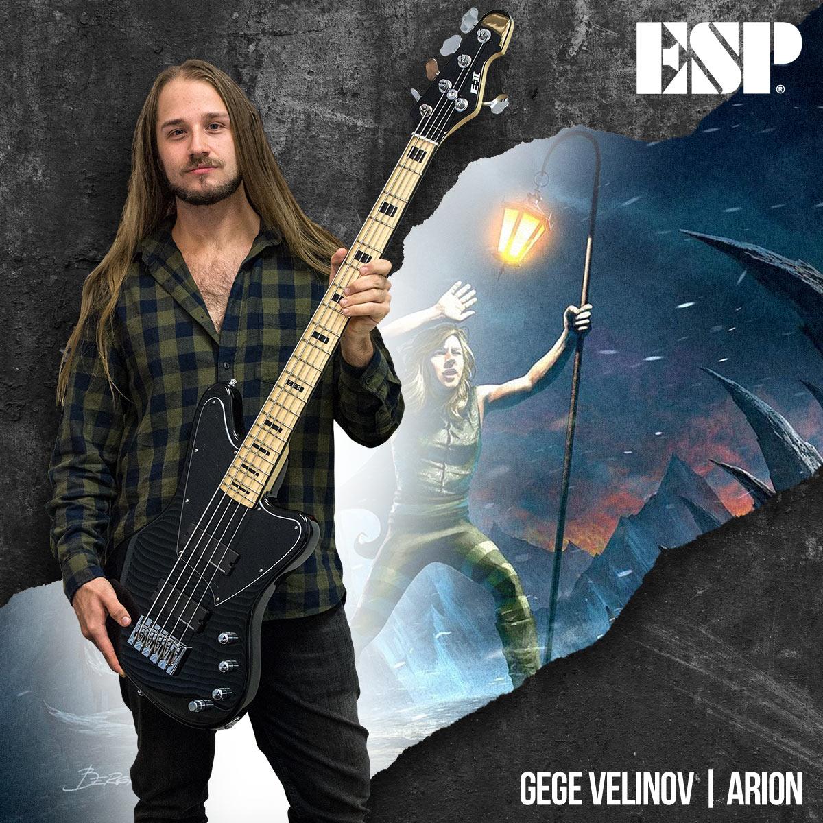 Gege Velinov - Arion -ESP Guitars
