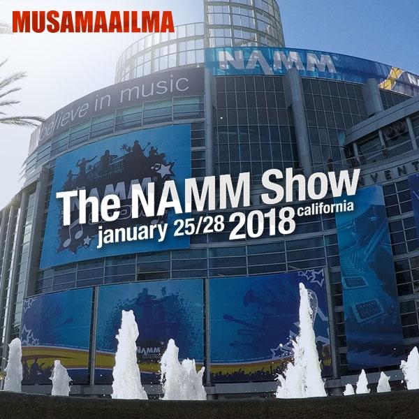 Musamaailma - NAMM 2018