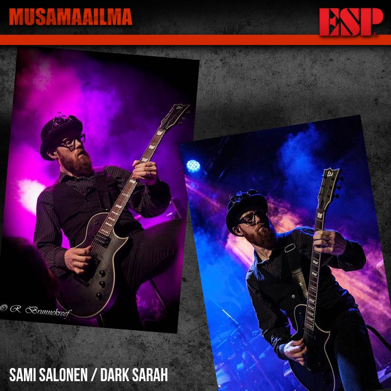 Sami Salonen - Dark Sarah - ESP Guitars