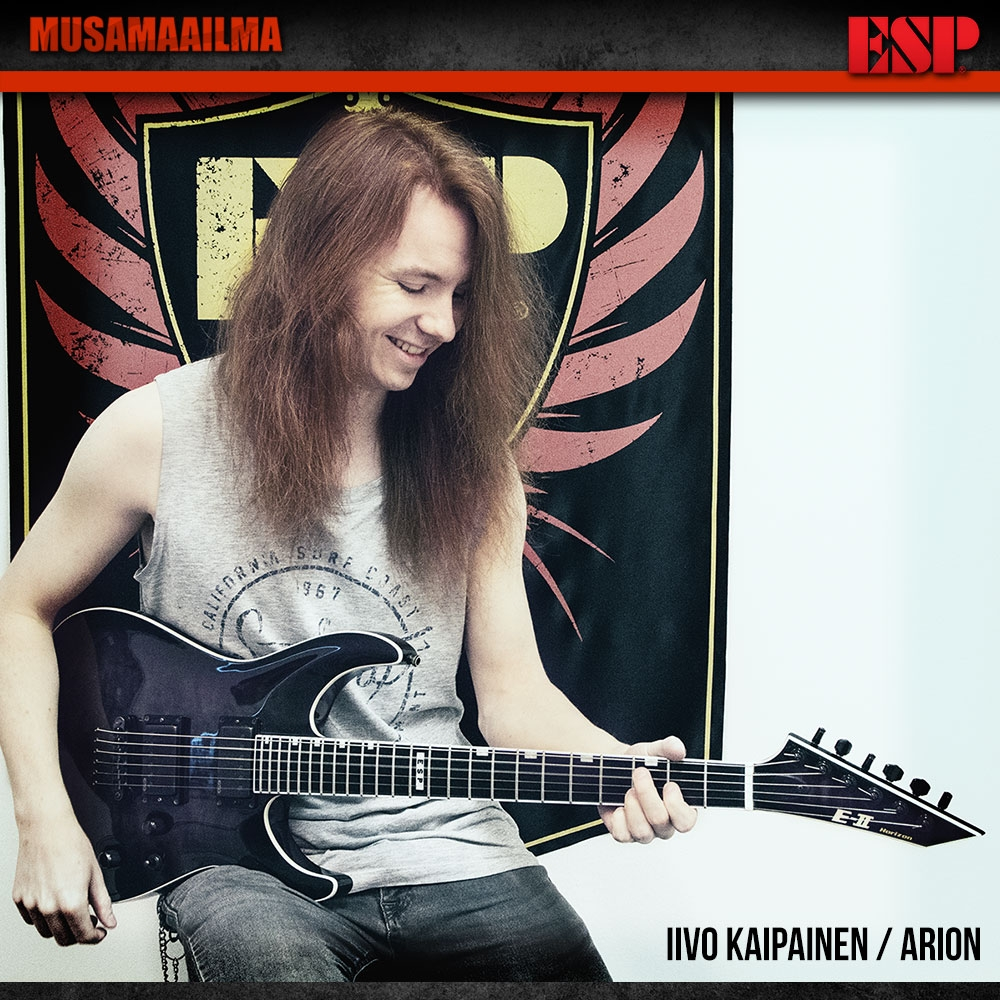 Iivo Kaipainen - Arion - ESP Guitars