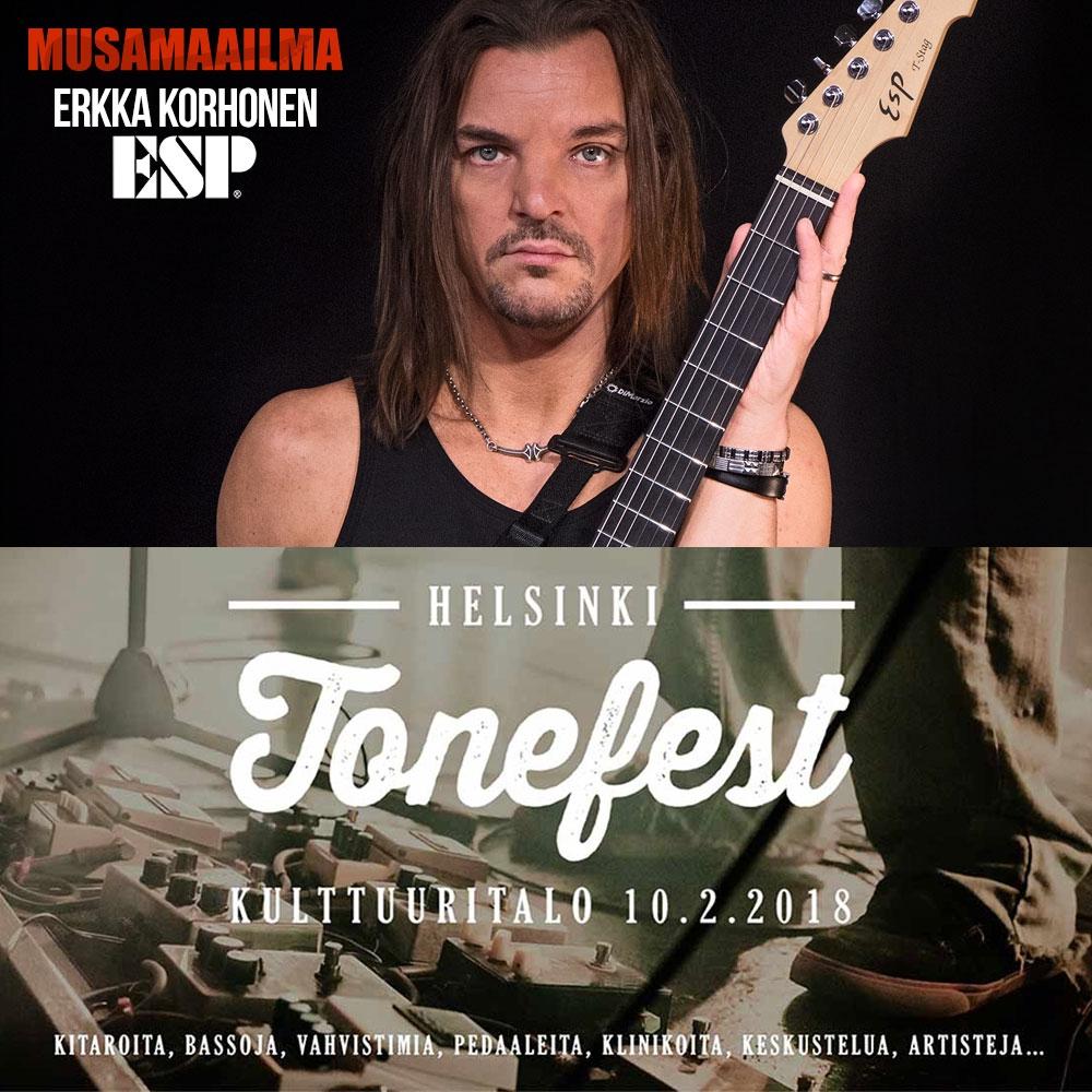 Helsinki Tonefest 2018: Erkka Korhonen - ESP kitaraklinikka
