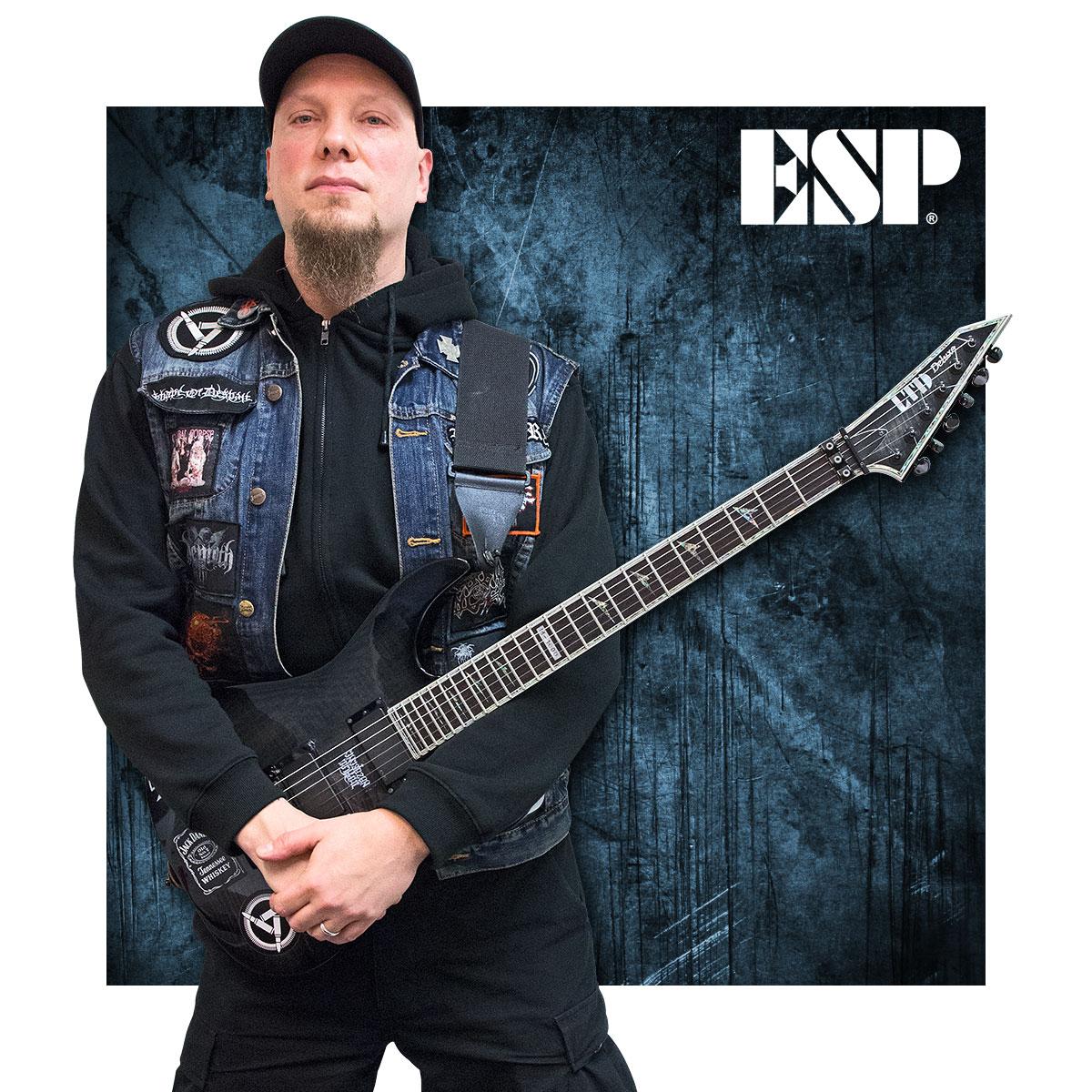 Tomi Ullgren - ESP Guitars