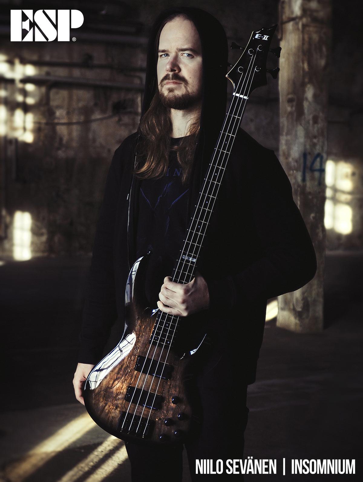 Niilo Sevänen - Insomnium - ESP Guitars