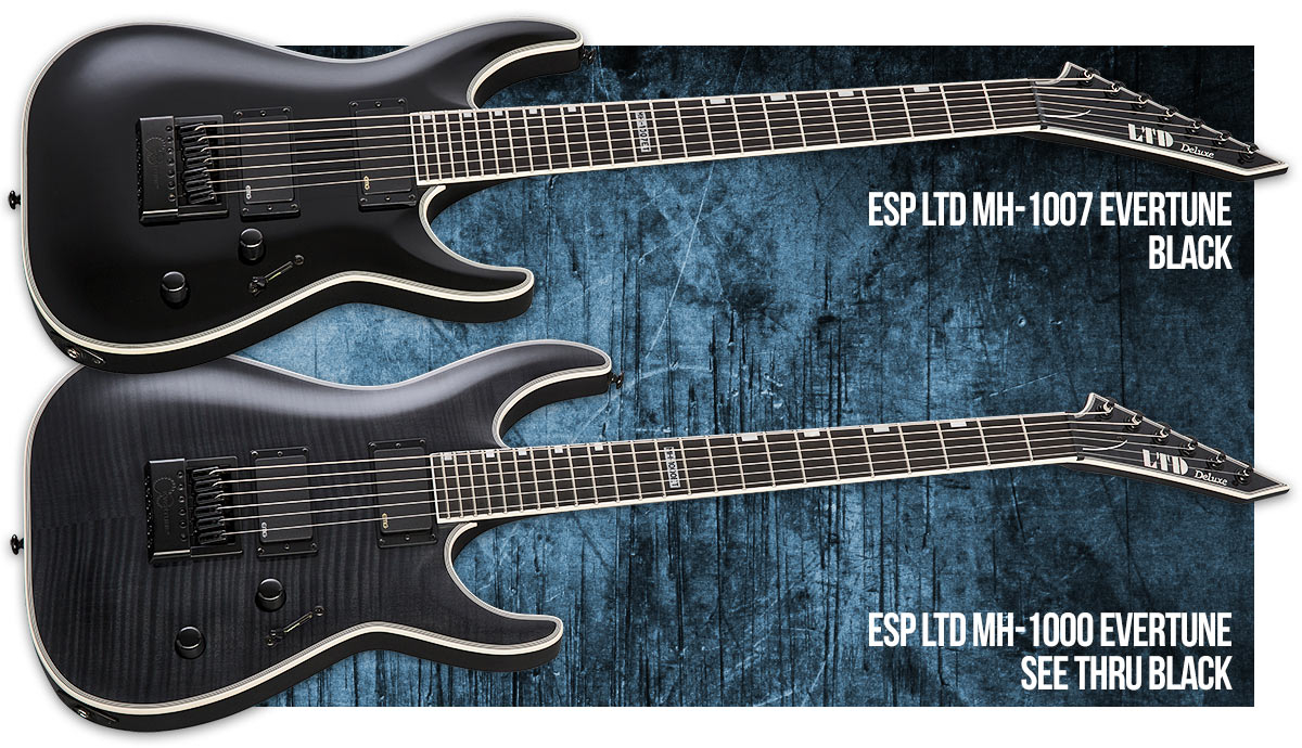 ESP LTD MH Series Evertune Models