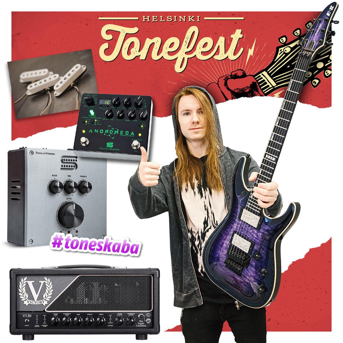 Helsinki Tonefest 2019 - Iivo Kaipainen, Arion - ESP Guitars