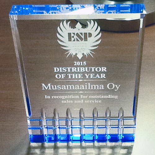 ESP Distributor of the Year 2015 Musamaailma
