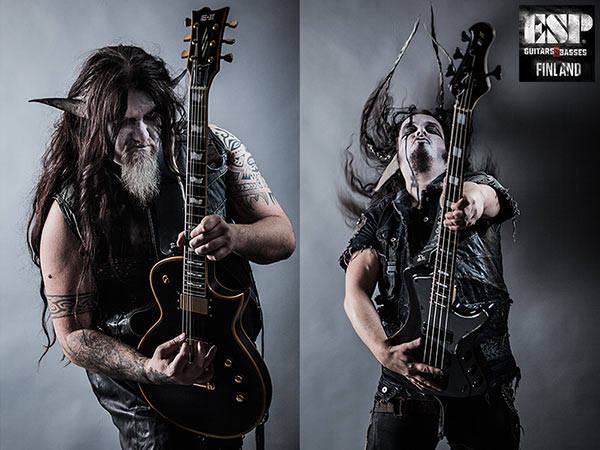Finntroll Enters ESP Guitars Finland Family