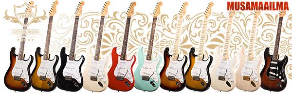 Tokai kitarat & bassot @ FUZZ Guitar Show 2016