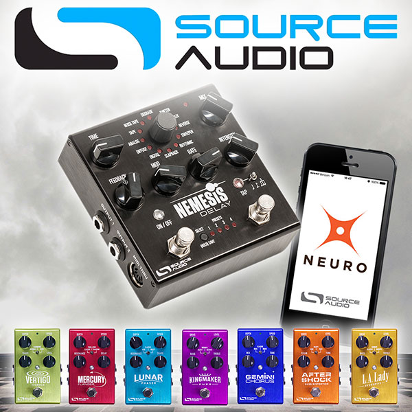 Source Audio One Series efektipedaalit