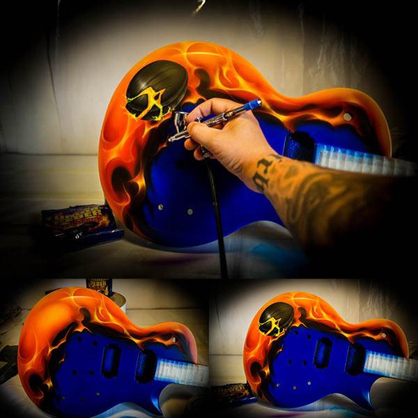 ESP LTD Eclipse Tyrkisk Peber