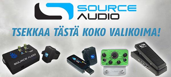 Source Audio valikoima