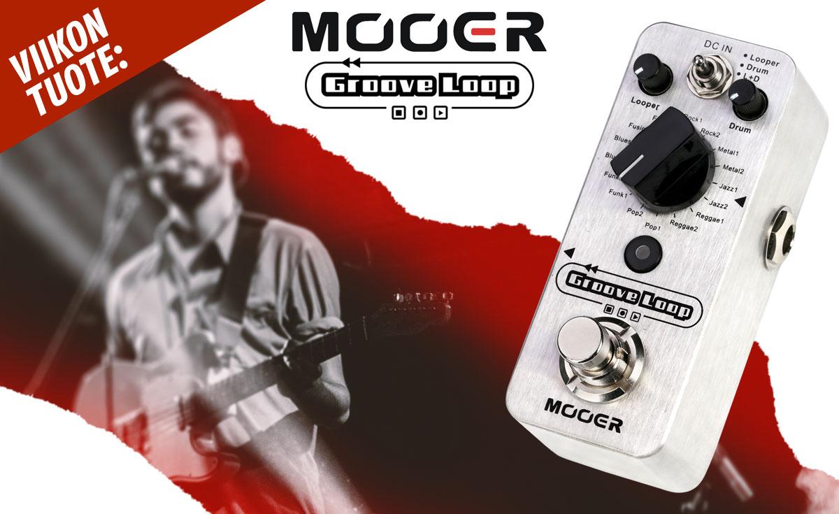 Viikon tuote: Mooer Groove Loop pedaali