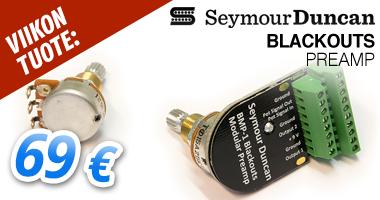 Viikon tuote: Seymour Duncan Blackouts Modular Preamp
